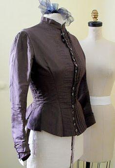 2ef21e2bf79  5 Bodice  Victorian bodice - good inside pics. Empireroom · Historical  Sewing Fortnight Challenge 2014
