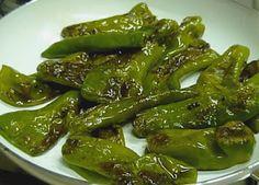 Verosimilmente Vero Magazine: I peperoni verdi fritti alla pugliese