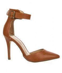 Breckelles Womens Ankle Strap Pointy Toe Heels,11 B(M) US,Tan Breckelles http://www.amazon.com/dp/B00IN8B8QQ/ref=cm_sw_r_pi_dp_aaO8tb16QJ86V