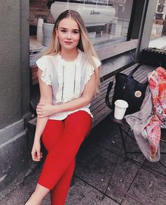 Munthe ABOVE blouse Pieszak MELANIE pant Mala Alisha BALLIN scarf Capri Pants, Blouse, Style, Fashion, Scale Model, Swag, Moda, Capri Trousers, Fashion Styles