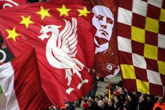 Liverpool FC - my first love, with me for life Liverpool Fc, Liverpool Legends, Liverpool Football Club, Real Soccer, Soccer Fans, This Is Anfield, Flag Banners, Flags, You'll Never Walk Alone