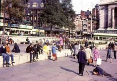 Old Market Square, Nottingham, early Council Estate, Nottingham City, History Photos, Local History, Town Hall, Old Pictures, Britain, The Past, England