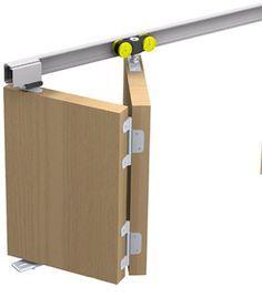 Wooden Sliding Doors, Sliding Wall, Door Design, House Design, Movable Walls, Hidden Kitchen, Folding Doors, Room Doors, Barn Door Hardware