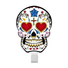 Gancho Caveira Sugar Skull - Coração