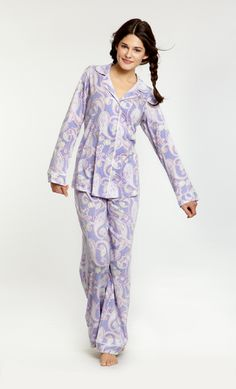 Hawaiian Paisley Orchid Classic Stretch PJ Set   www.customboutiques.com Pjs, Pajamas, Hawaiian Fashion, Bed Head, Pj Sets, Orchid, Paisley, Jumpsuit, Classic