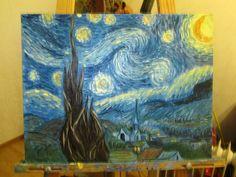 По следам Ван Гога #art #oil #арт #масло
