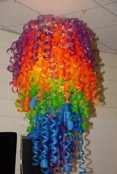 Chihuly Art Sculptures. I don't know. I just really want to make one of these for my classroom.... :)