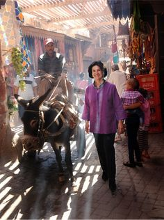 Celebrity Homes: Paloma Picasso /Marrakesh/