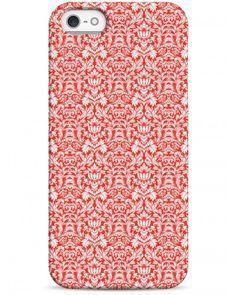 Красный принт - iPhone 5 / 5S / 5C Дизайнерские чехлы для iPhone
