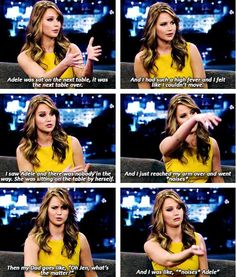 Ahahaha Jennifer Lawrence quotes are the best topic to search on Pinterest.