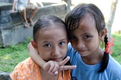 Our students giving the innocent look. #childrenofbali