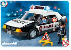 Police Car Playmobile (Big Brother)