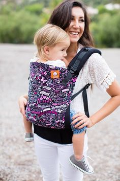 Canvas - Happie Diapers exclusive - 'Hope.Faith.Love' TULA BABY CARRIER