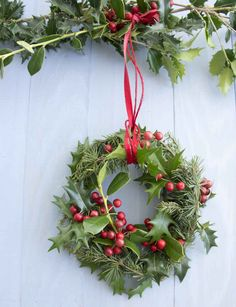 Westwing - klassische Weihnacht - Türkranz