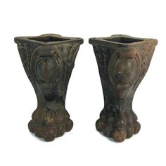 Vintage Claw Feet Pair Of Cast Iron Legs by EndicottVintage $75 plus shipping