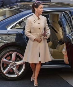Queen Margrethe, Crown Prince Frederik, Crown Princess Mary, Prince Joachim, Princess Marie, Princess Benedikte of Denmark attended the opening session of the Danish Parliament (Folketinget) at Christiansborg Palace on October 04, 2016 in Copenhagen, Denmark.
