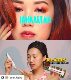 O.M.G Beautiful youtube creator, Karen O(@iamkareno) featured Klairs BB Cream in her 'Summer glossy makeup' video!❣Watch her video and find Klairs.✨See how well the bb cream was blended naturally on her skin when she applied the bb cream with her finger tips.