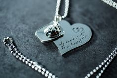 Fireheart Stainless Steel Necklace