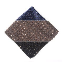 Also just released are Moonlight brown and black pocket squares! This collection is all about details and texture.