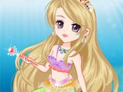 Free Online Girl Games, This mermaid is set to take over the underwater kingdom when she gets older and she wants to look the part!  In Tender Mermaid Princess, you must pick out a royal outfit!  Chose crowns, jeweled scepters, fancy outfits and more! , #mermaid #dressup #girl #princess