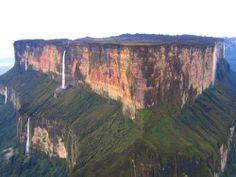 Monte Roraima - A chapada mais alta do mundo - Gigantes do Mundo - Brazil