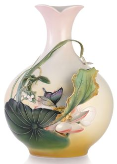 FZ03327 Franz Porcelain Jovial Blossom Lotus Flower OLD World Limited Edition | eBay