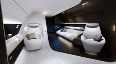 Mercedes Benz Partners with Lufthansa to Create Spectacular Luxury Airplane - My Modern Met