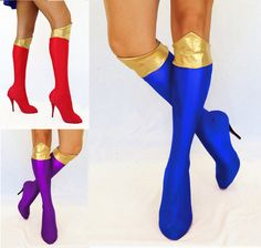 Hey, I found this really awesome Etsy listing at https://www.etsy.com/listing/154037594/bootlets-for-super-girl-sailor-moon