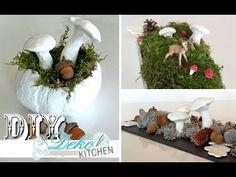 DIY: Schnelle Herbst-Deko mit Fimo-Elementen selber machen   Deko Kitchen - YouTube
