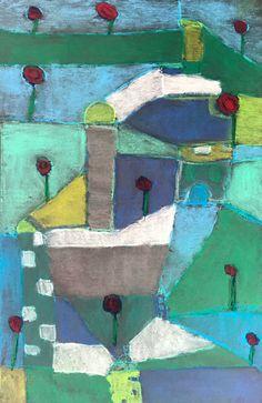 Paul Klee El Jardin de Rosas - Kids Art Classes, Camps, Parties and Events - Small Hands Big Art Watercolor Paintings Abstract, Watercolor Artists, Abstract Oil, Painting Art, Watercolor Trees, Watercolor Portraits, Watercolor Landscape, Kids Art Class, Art For Kids