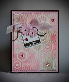 Valentine's Day Card: Love Very cute tag and card embellishment