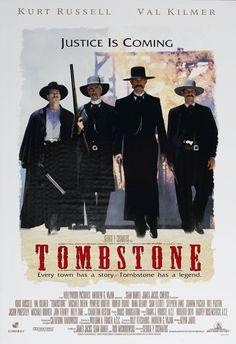 #158 Tombstone 1993 (Dir. George P. Cosmatos. With Kurt Russell, Val Kilmer, Sam Elliott, Bill Paxton, Michael Beihn, Dana Delaney, Charlton Heston, Powers Boothe)