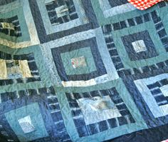 Cool denim quilt