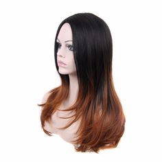 Aliexpress.com : Buy Silky Straight Heat Resistant Synthetic Hair Long 23 Inches Glueless None Lace African American Women Wigs Best Natural Looking from Reliable hair fairy lace wigs suppliers on Wig Artisan