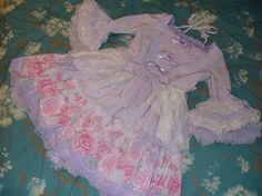 Angelic Pretty Romantic Rose Letter OP (SOLD)