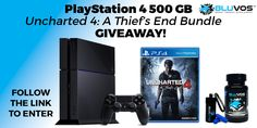 PlayStation 4 500 GB Uncharted 4: A Thief's End Bundle