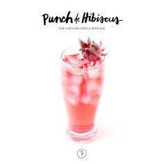 Ponche de hibisco: aprenda a fazer o drink exótico (Foto: Divulgação)