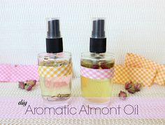 DIY Aromatic Almont Oil!!!!