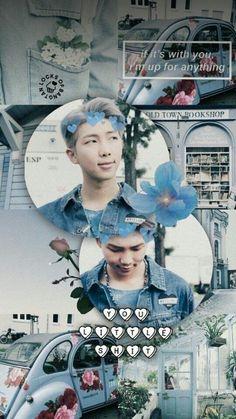 BTS Photos & More - Wallpapers: Namjoon - Wattpad Namjoon, Seokjin, Rapmon, Hoseok, Taehyung, Park Jimim, Bts Wallpapers, Bts Backgrounds, Bts Cute