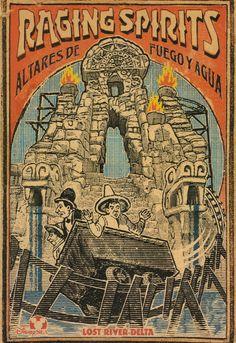 Raging Spirits Poster (DisneySea)