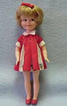 Penny Bright doll.  I had two of these dolls.  I pretended they were twin sisters to Barbie because I never had a Skipper doll.