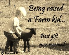 Being raised a farm kid... best gift ever received :)