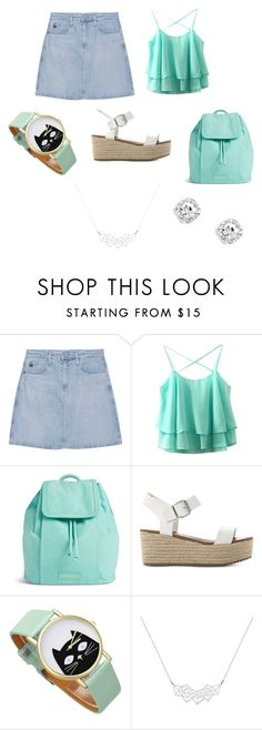 """""""Conjunto básico dia 4"""" by guille-promadaki on Polyvore featuring moda, AG Adriano Goldschmied, Vera Bradley, Steve Madden y A Weathered Penny"""