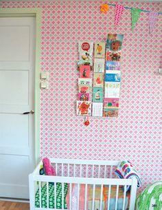 Kleurrijke #babykamer | Colorful #nursery via Zilverblauw