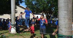 """Programação esportiva comemora Dia Mundial da Saúde, em Ji-Paraná. Dia Mundial da Saúde é comemorado dia 7 de abril. """"Programação foi realizada pela PM, na Praça dos Migrantes."""""""