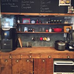 黒板シートを使って、手軽にあこがれのカフェ風インテリアに。 | iemo[イエモ]