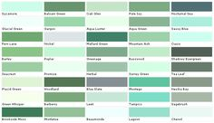 lowes paint color chart house paint color chart chip on lowes interior paint color chart id=75164