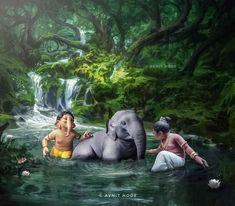 Ganesh Chaturthi Images, Happy Ganesh Chaturthi, Ganesh Images, Ganesha Pictures, Bal Krishna, Radha Krishna Photo, Baby Ganesha, Ganesha Art, Ganesh Lord