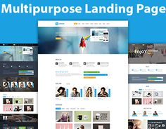 Linedo – Multipurpose Landing Page Template is a responsive, clean and modern designed template. This template is a clean and effective landing page for your product. This creative template fits for absolutely different products – from apps to medic… Page Template, Templates, Landing Page Html, Working On Myself, New Work, Behance, Gallery, Check, Stencils