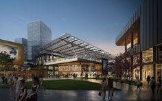 Gallery | Projects | 5+design Retail Architecture, Landscape Architecture, Mall Design, Retail Design, Strip Mall, Shade Canopy, 3d Warehouse, Shopping Malls, Architect Design
